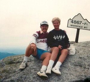 In addition to attending football games together, Patrick and Linda also enjoy traveling, hiking and water sports.
